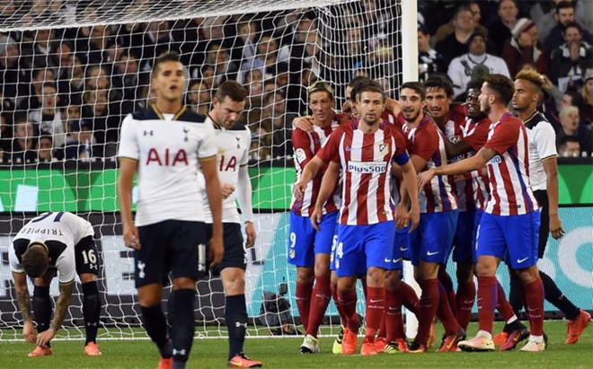El Atl�tico de Madrid se impuso al Tottenham