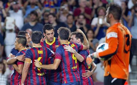 El Bar�a derrot� al Sevilla en casa la pasada temporada
