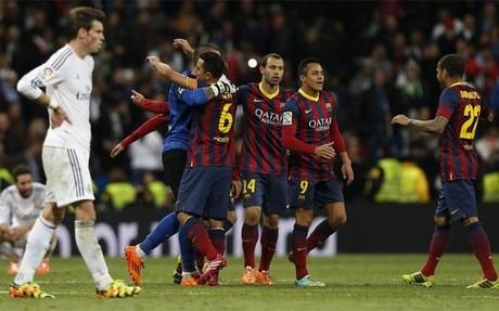 El Barça rompió la racha de Ancelotti