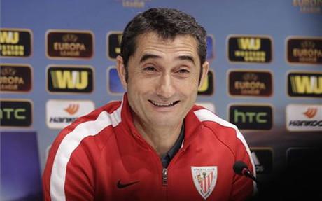 Ernesto Valverde, entrenador del Athletic de Bilbao