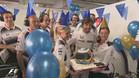 La fiesta de McLaren por el cumplea�os de Alonso