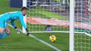 El gol mal anulado en Mestalla