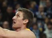 Justin Doellman, en una acci�n del partido ante el Bilbao Basket
