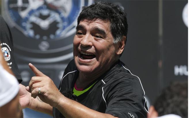 Maradona habl� del fracaso de Argentina