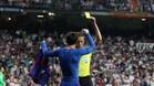 Así fue el cara a cara entre el colegiado y Messi tras el gol