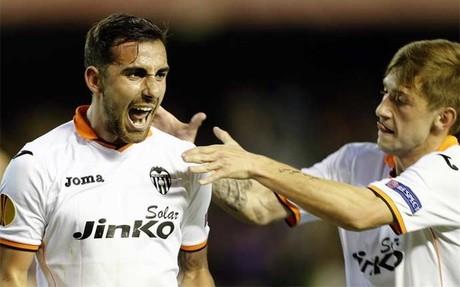 Paco Alcácer y Fede Cartabia fabricaron el único gol del partido