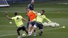 Cristiano y Benzema tampoco se entrenan