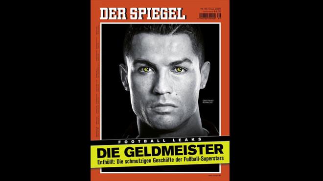 Impactante portada de Der Spiegel sobre el escándalo de Cristiano Ronaldo