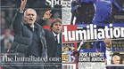 Jose Mourinho, 'The Humiliated One'