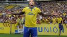 Kevin Price Boateng tuvo una presentaci�n multitudinaria con la UD Las Palmas