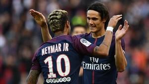 La relación entre Cavani y Neymar sigue levantando suspicacias