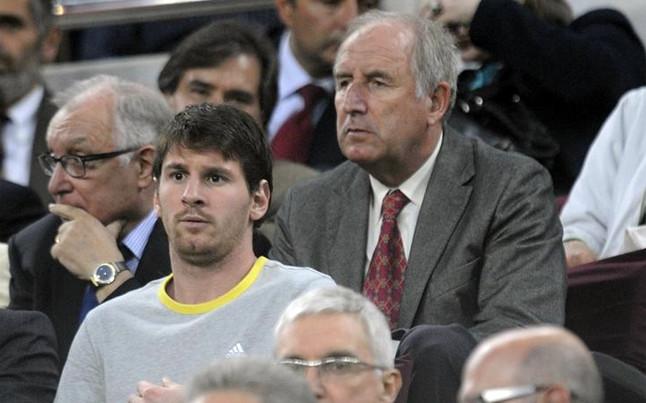 Carles Rexach acusa a Messi de comer demasiado