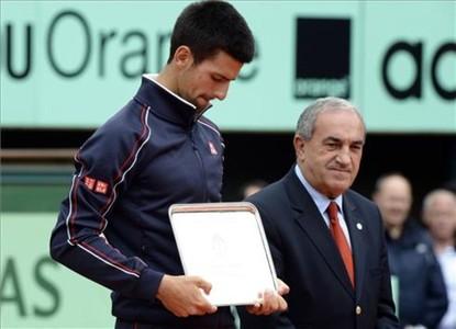 Djokovic, triste tras la derrota