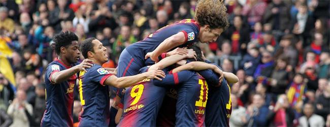 """مباراة استعراضية """"برشلونة"""" يقسُو """"خيتافي"""""""