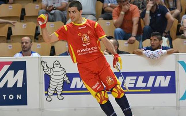 Espa a a semifinales con goleada hockey for Unicaja barcelona oficinas