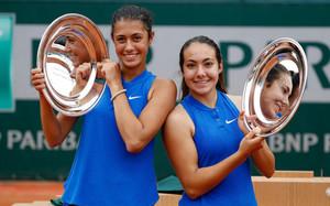 Olga Danilovic y Paula Arias, campeonas de dobles júniors de Roland Garros