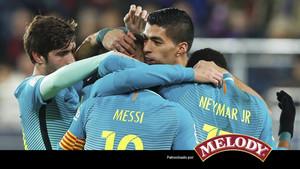 El Barcelona logró una victoria holgada en el campo del Eibar