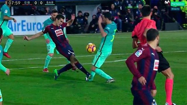 Video resumen: La lesión de Sergio Busquets en el Eibar - Barcelona