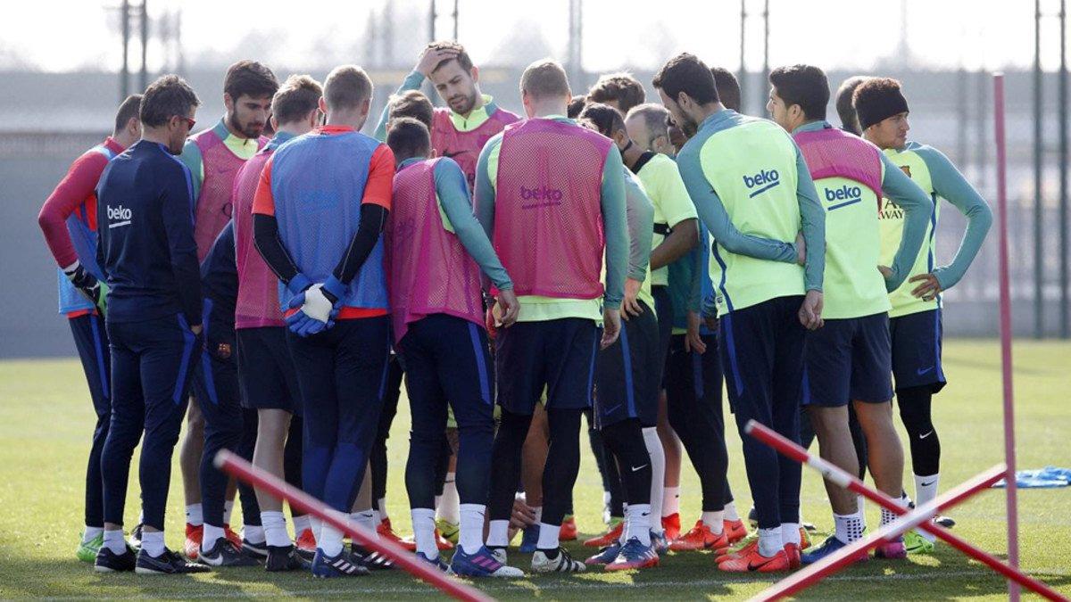 ¿Dónde cree la plantilla del Barcelona que pinchará el Real Madrid? (ES)