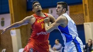 Sebas Saiz fue uno de los debutantes en la selección española