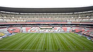 No habrá foto en el Estadio Azteca