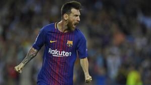 Leo Messi, jugador del FC Barcelona