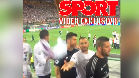 As� reaccion� Benzema con unos cul�s