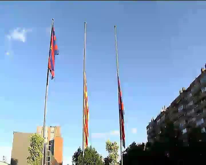 El espacio de condolencias por Tito Vilanova en el Camp Nou se abre este s�bado