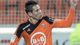 Barcelona make contact as they move for Lorient left-back Guerreiro
