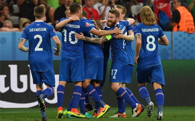 Islandia celebra un triunfo hist�rico ante Inglaterra y ya est� en cuartos