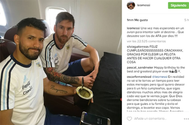 Messi public� esto en Instagram