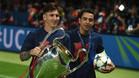"""Xavi: """"No tengo dudas; Messi renovará con el Barça"""""""