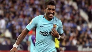 Paulinho sigue acumulando alegrías en el Barça