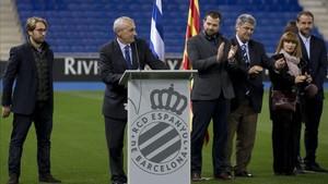 Presentación del fútbol base, femenino y social del RCD Espanyol