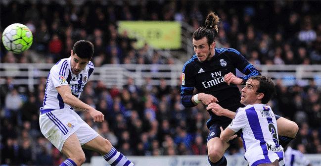 Real Sociedad, 0 - Real Madrid, 1