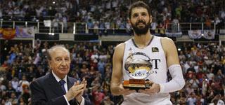 Nikola Mirotic se llevó el MVP de la Copa del Rey 2014