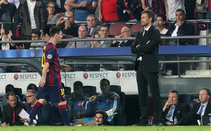 La relación entre Messi y Luis Enrique es cada vez más complicada