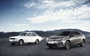 Toyota Corolla: 50 a�os de historia
