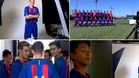 Las mejores imágenes del shooting fotográfico del Juvenil A