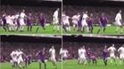 Sergio Ramos cometió falta sobre Mascherano en el gol del empate del Real Madrid