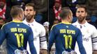 Ramos miró fijamente a Aspas y le escupió