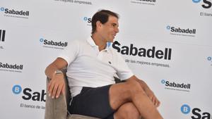 Rafa Nadal habló en Acapulco de la decisión de su tío de dejar de entrenarle el próximo año
