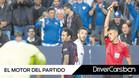 Gil Manzano expulsa a Neymar tras mostrarle la segunda cartulina por su entrada a Llorente