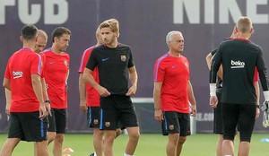 Samper espera tener oportunidades en el Barcelona