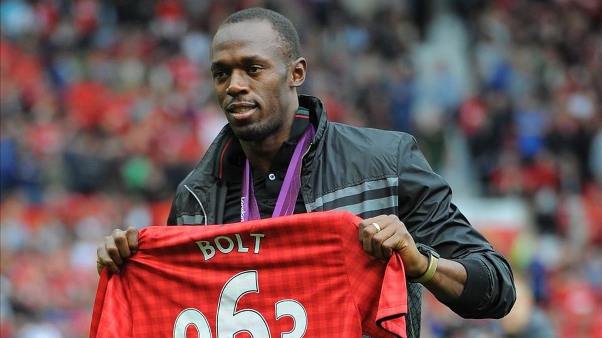 Usain Bolt cumplirá su sueño y jugará con las leyendas del Manchester United