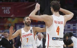 Navarro disputó su último partido con España