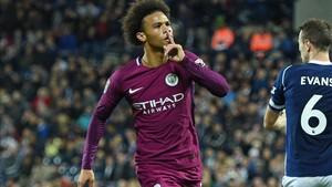 Sané marcó los dos goles del City