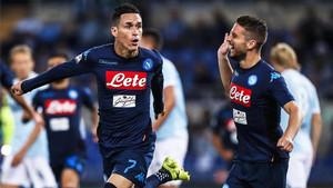 Callejón volvió a ver puerta ante la Lazio