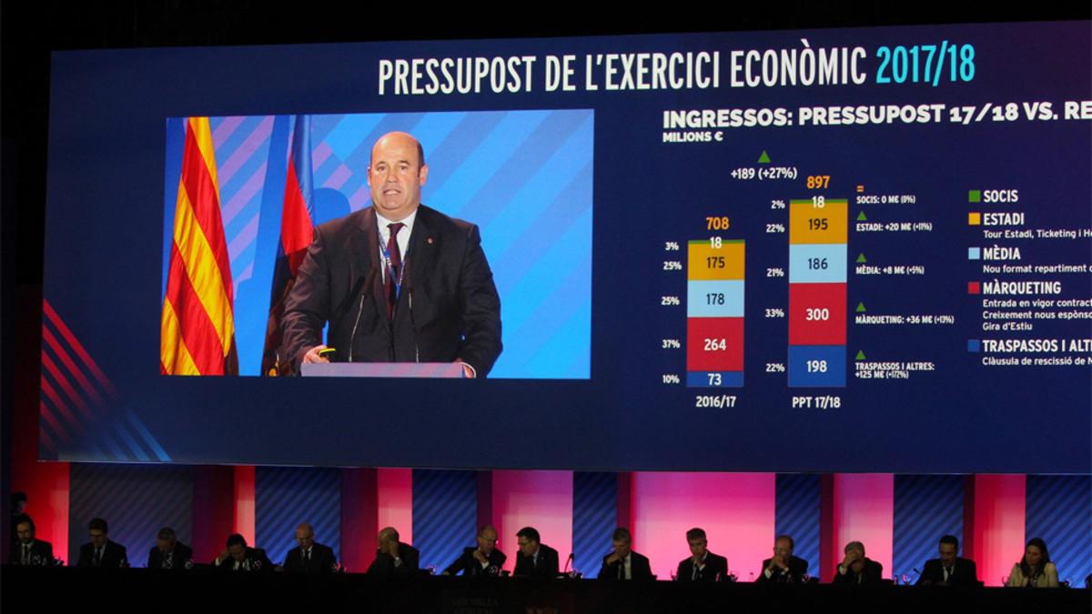 El Barcelona aprobó el presupuesto más alto de su historia