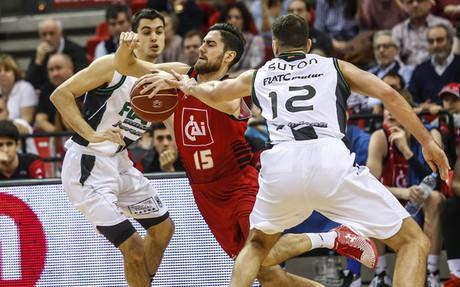 El CAI Zaragoza firm� un segundo cuarto perfecto